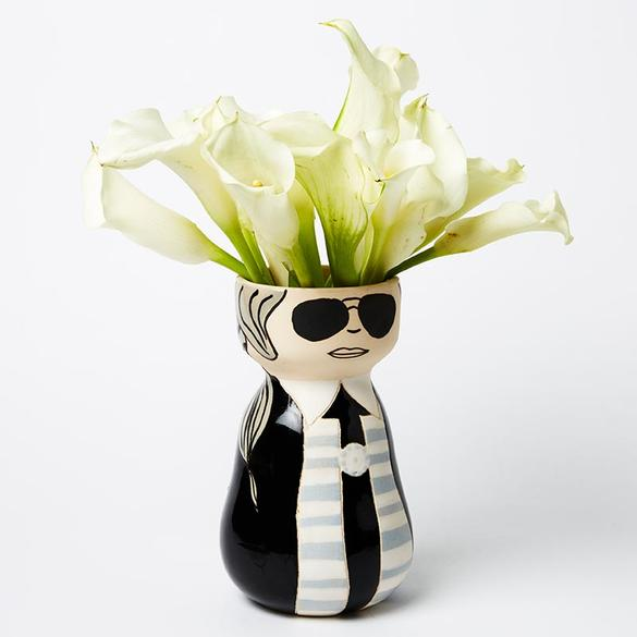 Planter | Karl Lagerfield Vase | Have you met Miss Jones