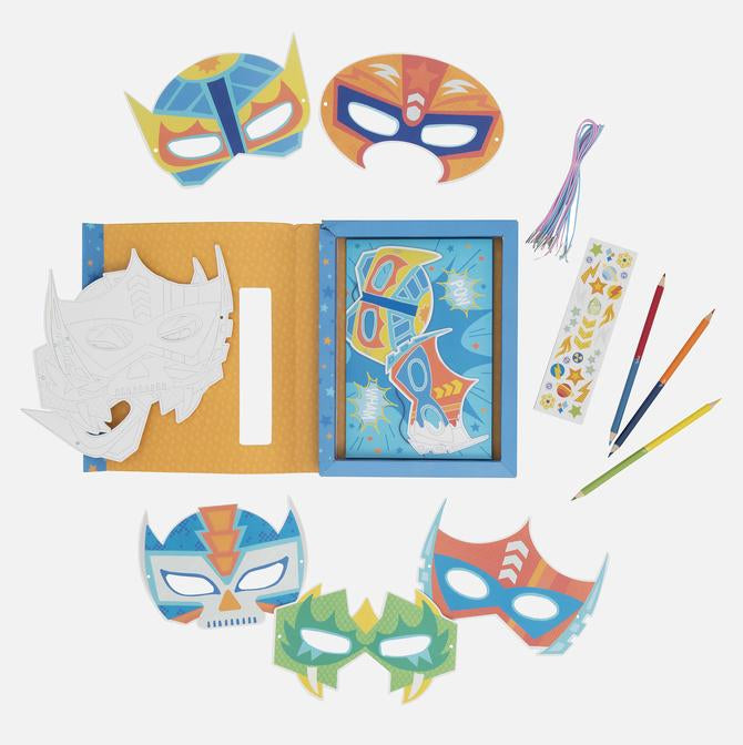 Tiger Tribe | Paper Masks - Action Pack
