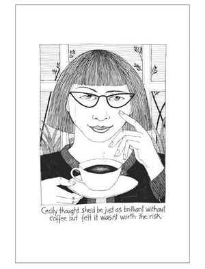 Cecily | Tea Towel | Coffee Brilliance
