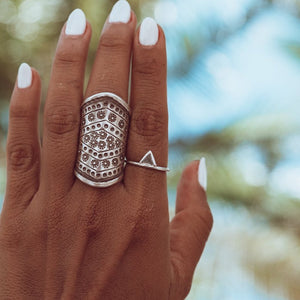 Embella | Tribal Stacker Ring