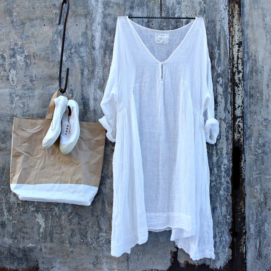 Meg By Design | Linen Dress | White