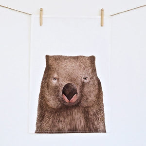 For Me By Dee | Tea Towel | Winston the Wombat