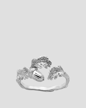Karen Walker | Acorn & Leaf Ring