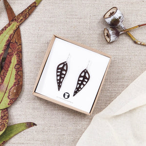 Earrings | Gum Leaf