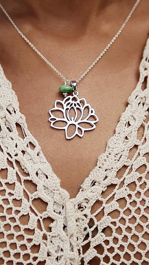 Nothing Jaded | Lotus Love Necklace