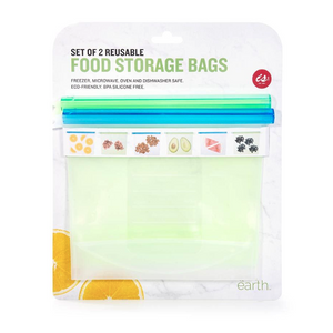 Reusable Food Storage Bags | Set of 2