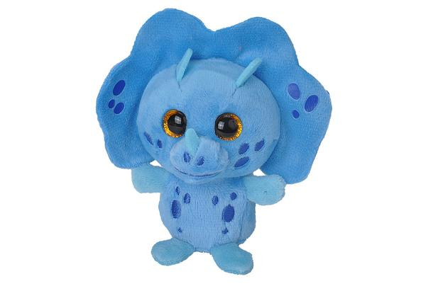 Wild Republic | Lil Scents Plush Clip | Triceratops Blueberry
