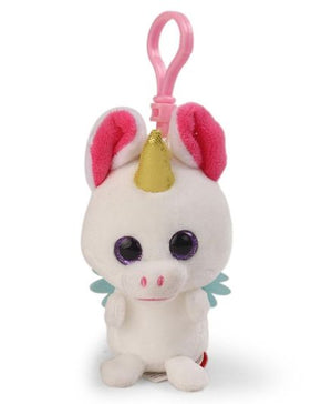 Wild Republic | Lil Scents Plush Clip | Unicorn Watermelon