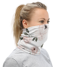 Load image into Gallery viewer, Peonies | Fabric Neck Gaiter | Face Mask