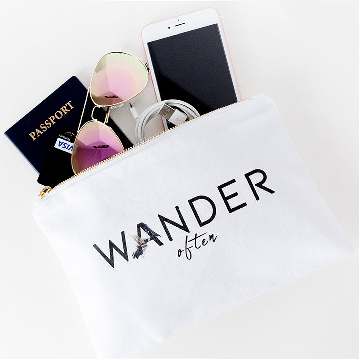 WANDER OFTEN ACCESSORY POUCH