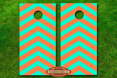 2-color-custom-chevron-stripes-cornhole-board-decals-wraps
