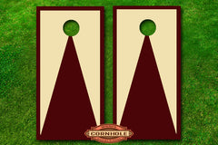 custom-2-color-triangle-pattern-border-cornhole-board-wraps