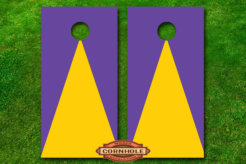 custom-2-color-triangle-pattern-cornhole-board-wraps
