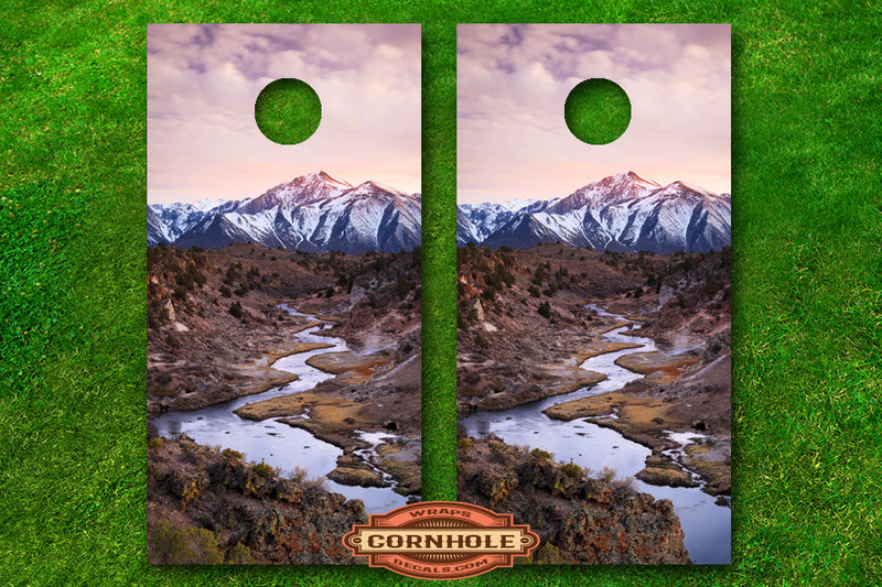 colorful-sunset-mountain-landscape-cornhole-board-wraps