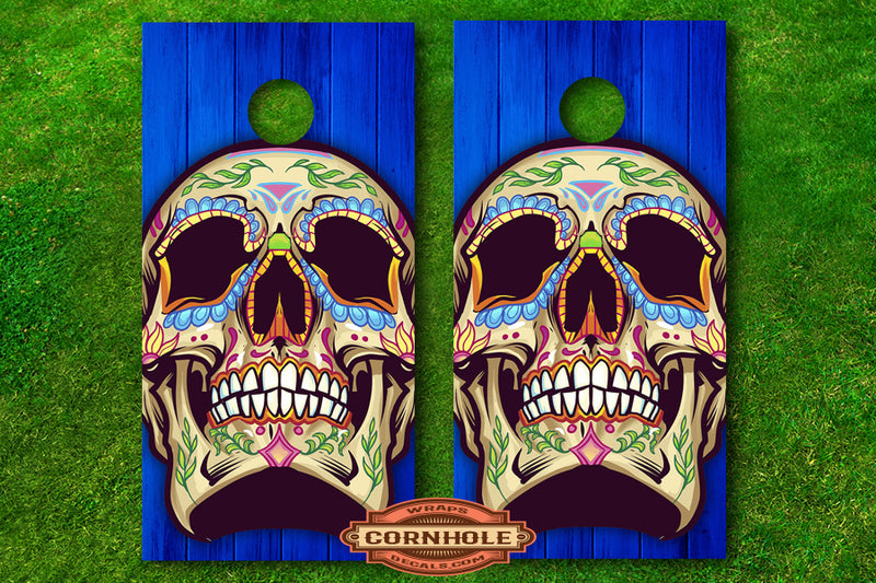 sugar-skulls-cornhole-decals