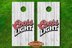 Miller Lite Beer Cornhole Board Decals