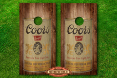 coors can-vintage coors can-cornhole-wrap-decal