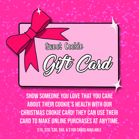 Sweet Cookie Gift Card