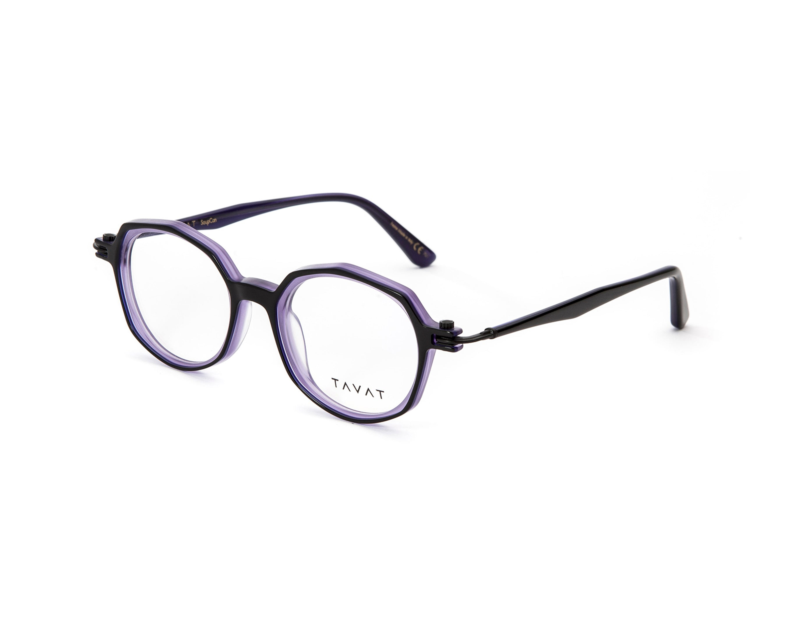Tavat - Bi-Ellipse-SC034-Black Purple