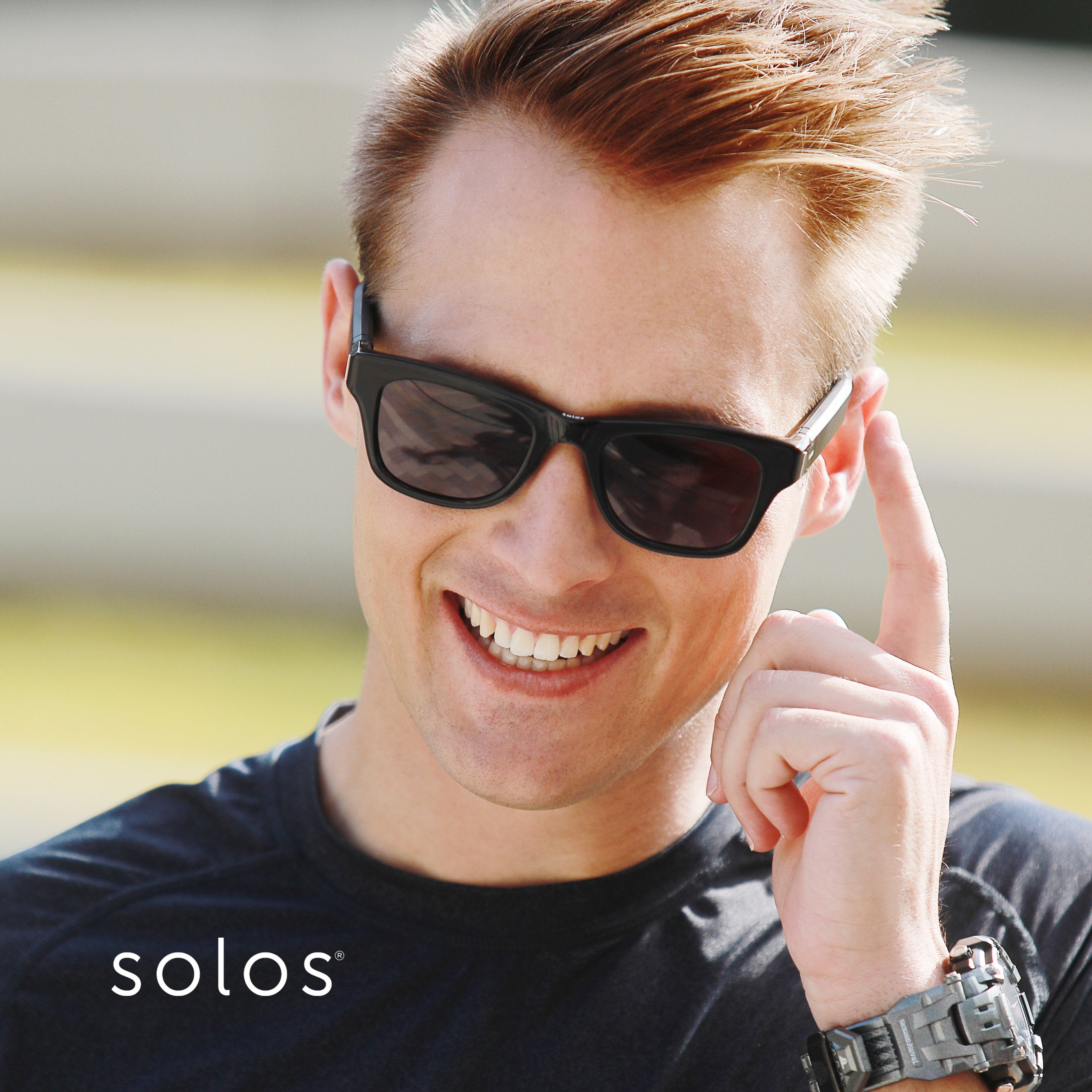 SOLOS -【新品】SOL-ARGON3-01 Black /D.Gray