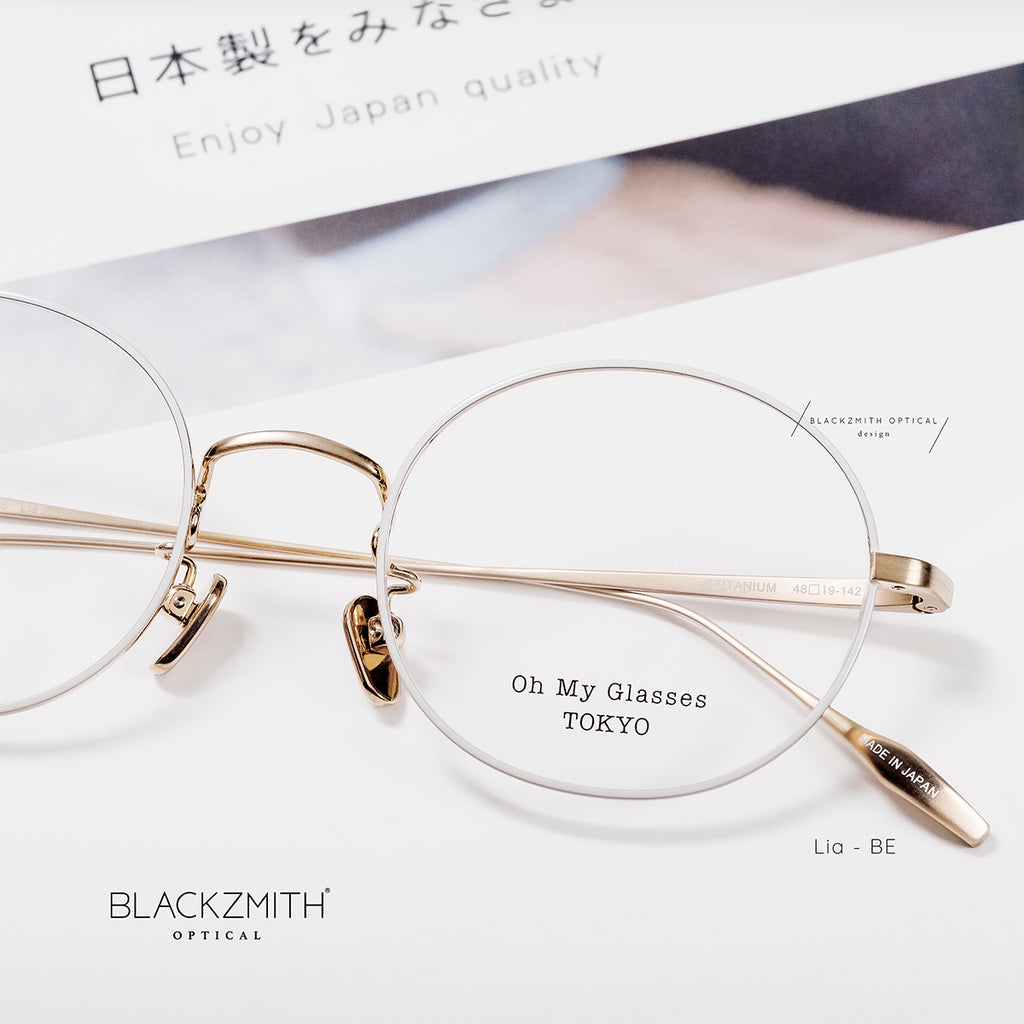 Oh My Glasses - Lia omg-088-BE-48【New】
