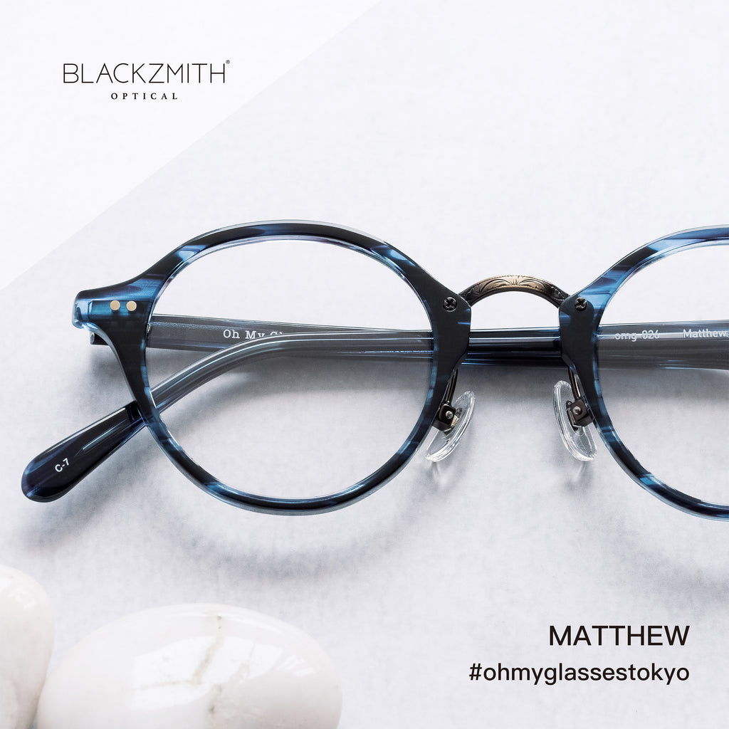 Oh My Glasses - Matthew omg-026-7【OMG 別注優惠】