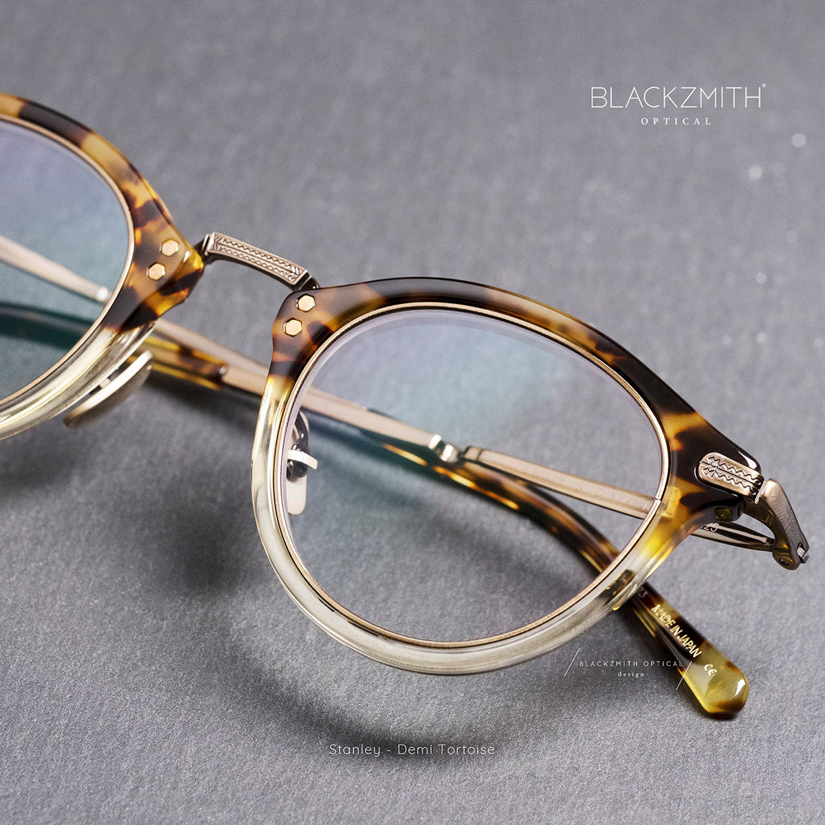 Mr. Leight - Stanley M4022 Demi Tortoise -AG【Blackzmith Exclusive】
