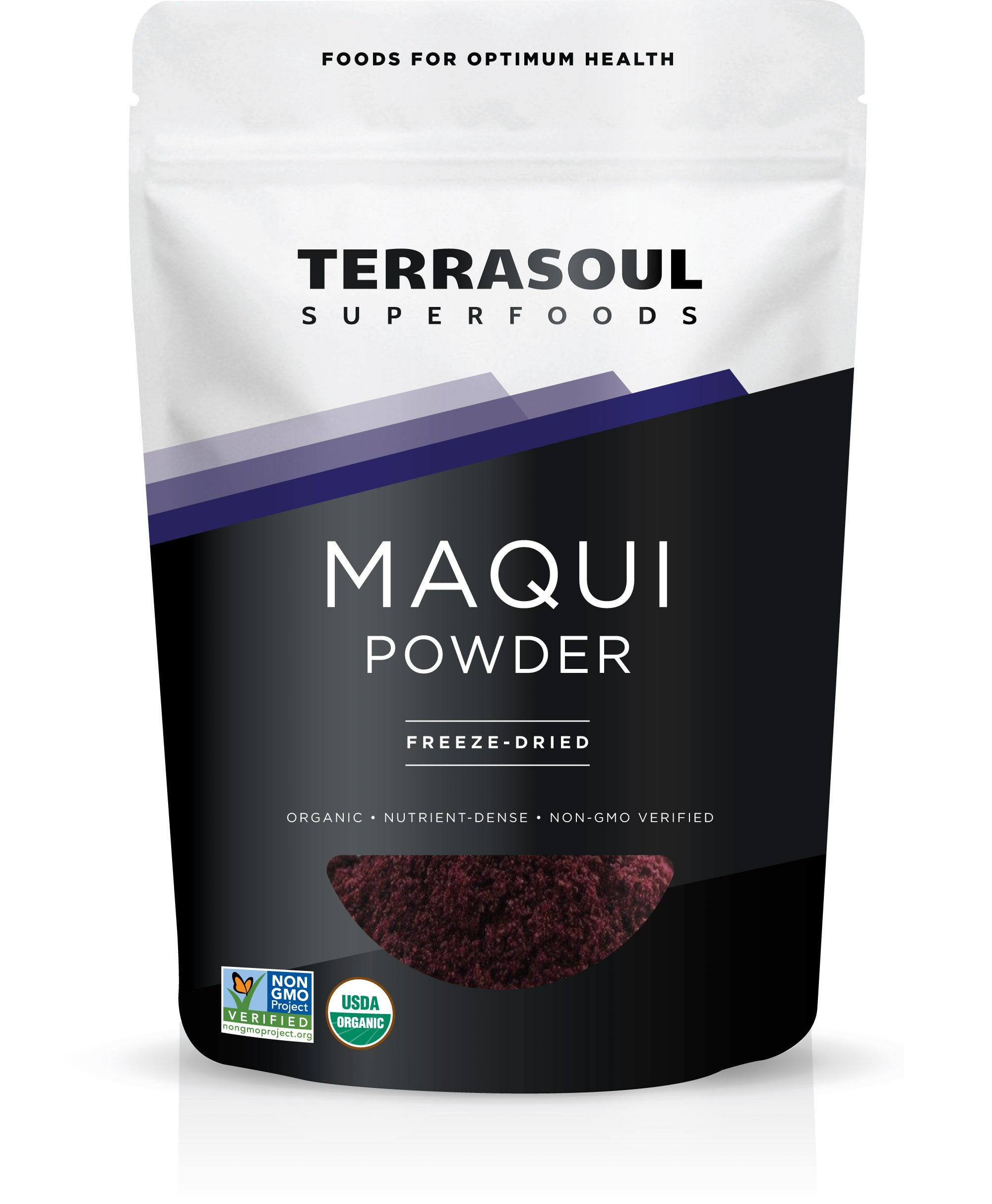 Maqui Berry Powder Freeze Dried Terrasoul Superfoods