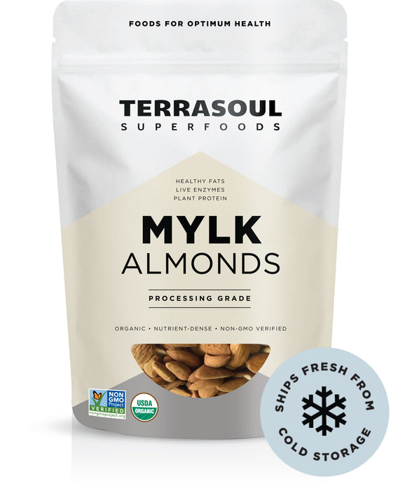 Almonds Mylk Grade (Unpasteurized, Raw)