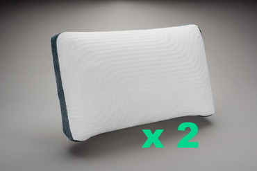 The 8 Hours™ Adjustable Pillow Double Pack SAVE 15%