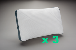 The 8 Hours™ Adjustable Pillow Triple Pack SAVE 20%