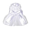 Bianca White Dog Dress for Wedding | Chloe Cole Pet Couture