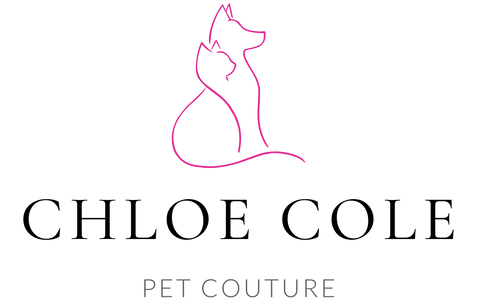 Chloe Cole Pet Couture Logo Name and Logo Image of Dog and Cat