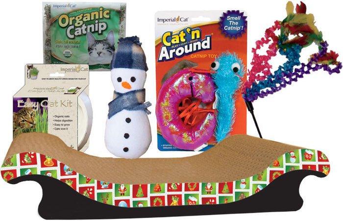 Imperial Cat Holiday All-American Cat Kit Gift Set
