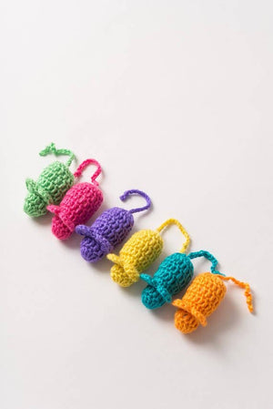 Catnip Mice Twin Pack - Multicolor