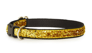 24K Gold Glam Dog Training Collar