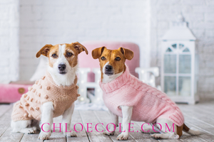 Gift Card - Pink Christmas Dogs