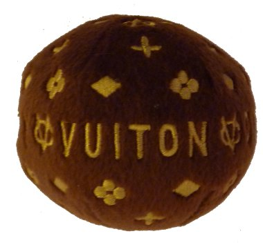 Chewy Vuiton Ball - Small Dog Toy