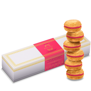 French Rose Macaron Box of 6