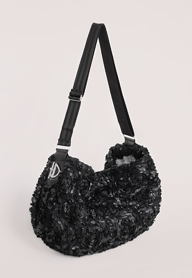 Victorian Luxury Sling - Black