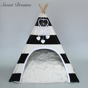 Sweet Dreams Teepee Black/White