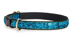 Aqua Glam Cat Collar