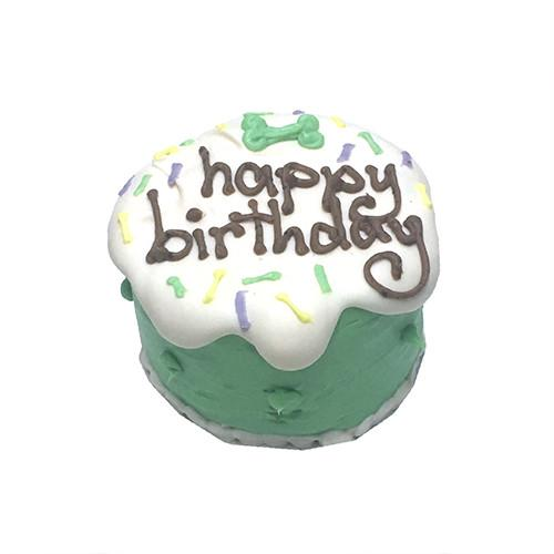 Green Sprinkles Birthday Baby Cake