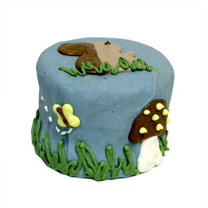 Woodland Squirrel Baby Cake in a Box
