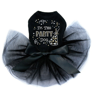 Party Dog Tutu - Black