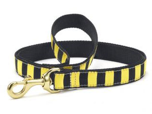 Black And Yellow Dog Leash