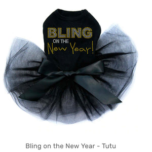 Bling On The New Year Black