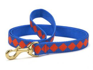 Blue Orange Dog Leash