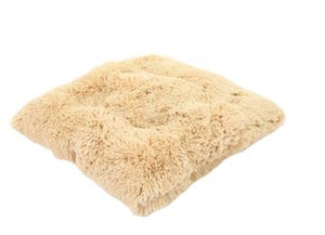 Camel Shag Pillow Bed