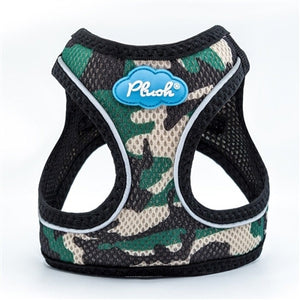 Camo Plush Step In Vest Air-Mesh Harness